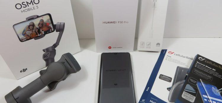 Huawei P30 Pro und DJI Osmo Gimbal