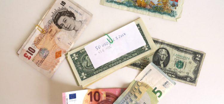 bargeld kreuzfahrt schiff wechseln währung