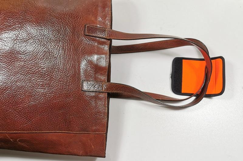 extra neopren handgriff für lederhandtasche