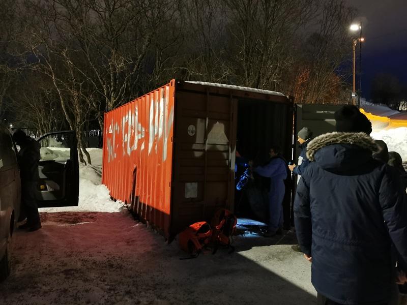 container ausrüstung tromso outdoor