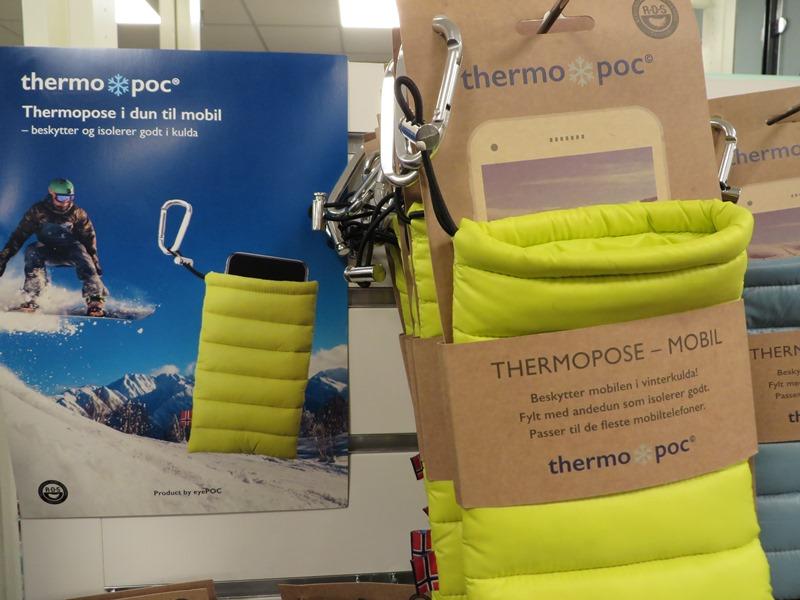 Thermopose Kälte Akku Smartphone