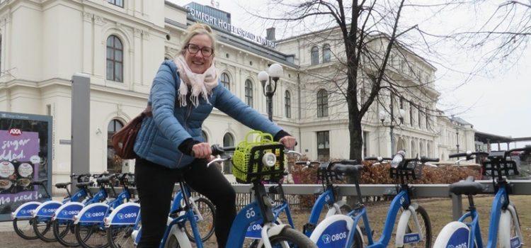 Oslo Stadtrad Jessica Kirsten