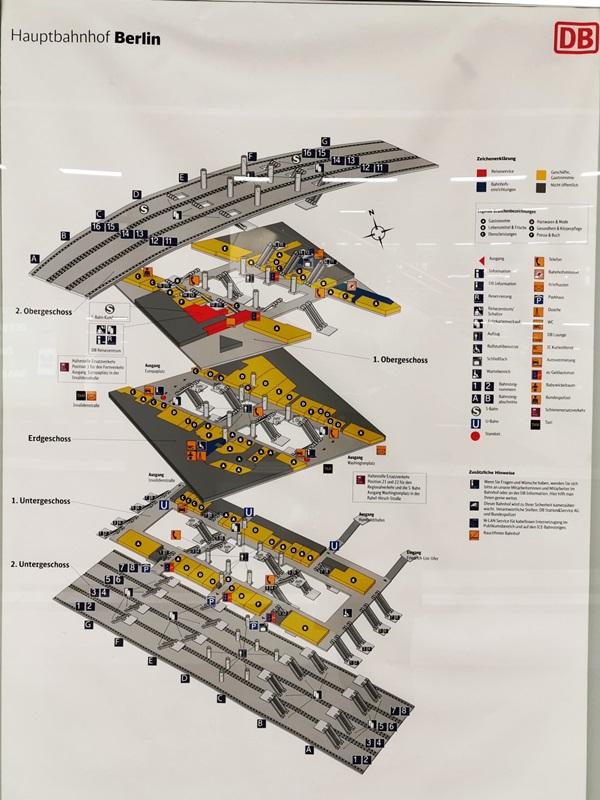übersichtsplan ebenen berlin hauptbahnhof