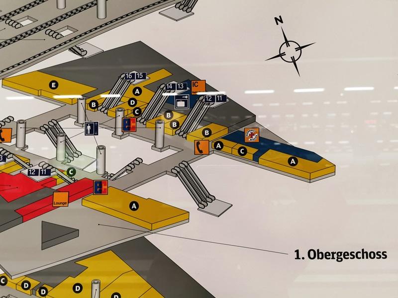 gepäckschliessfach berlin hauptbahnhof plan