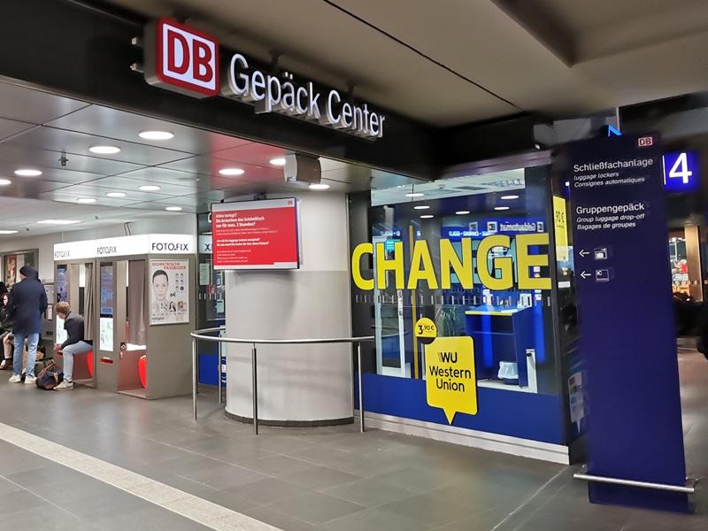 eingang gepäck center berlin hauptbahnhof