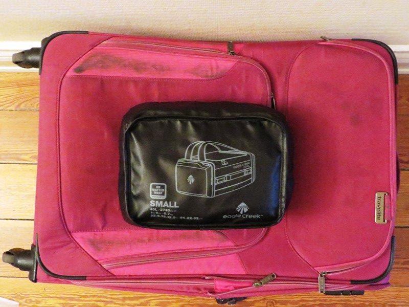 Koffer und Reisetasche Vergleich
