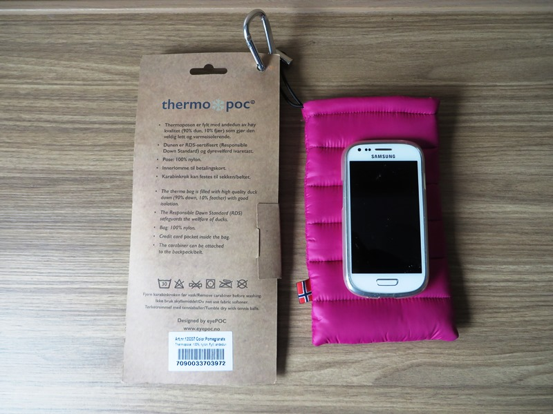 Thermopose Thermopoc EPoc Smartphone